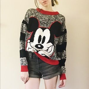 Vintage Mickey Mouse & Co Disney Sweater Pullover